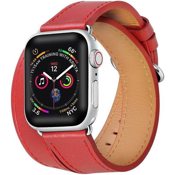 POSH TECH Accessories - Leather Apple Watch Band
